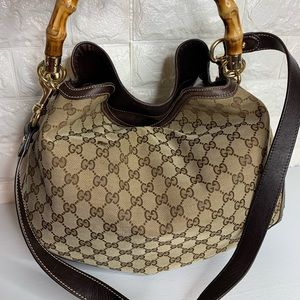 Gucci Monogram Canvas bag Diana
